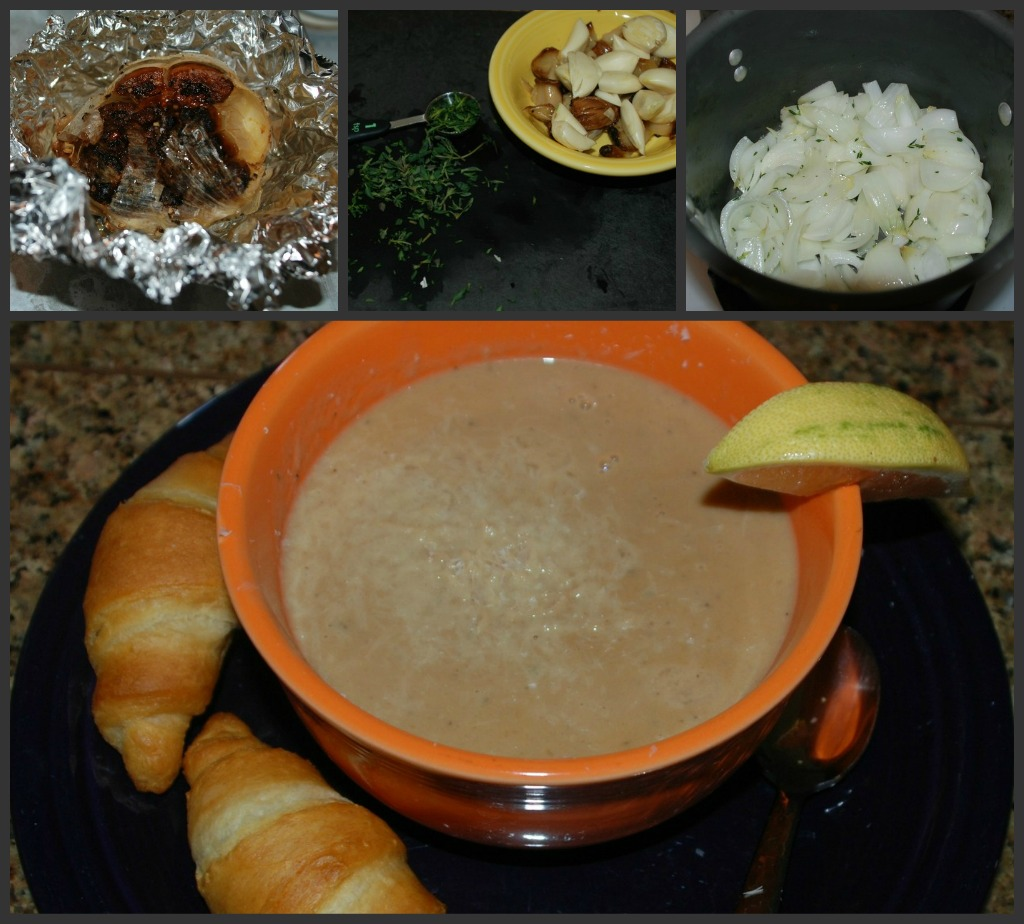 Popcorn, Pugs & Peonies: 44 Clove Garlic Soup