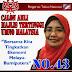 Jasa Kak Midah Kembalikan Kerajaan Perak Tahun 2009 Kepada UMNO Jangan Kita Lupa...