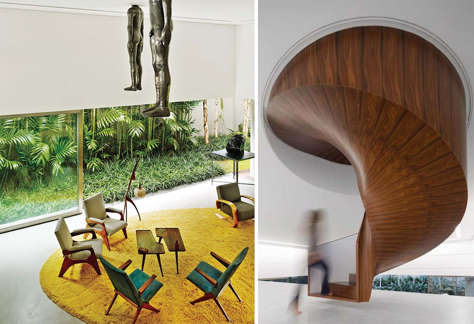 Casa cubo by isay weinfeld s o paulo arc art blog by for Piani casa 6 camere da letto