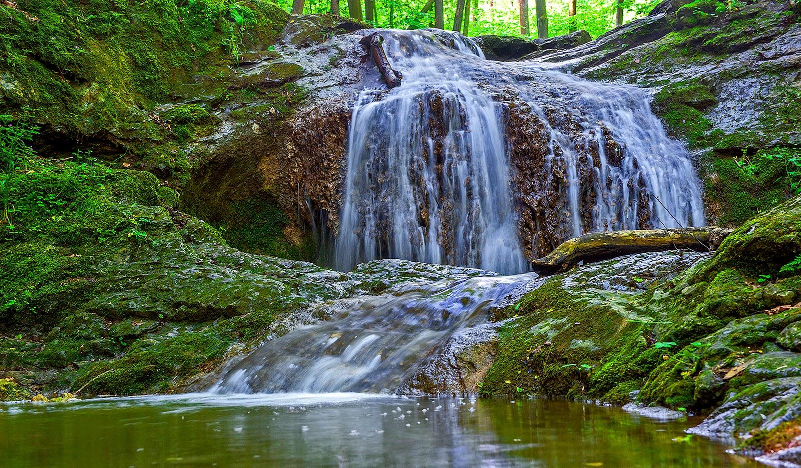 Karstejn, Czech Republic, waterfalls, vodopady