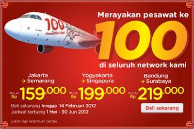 Air Asia Promo 2013 Penerbangan Gratis Domestik dan Internasional