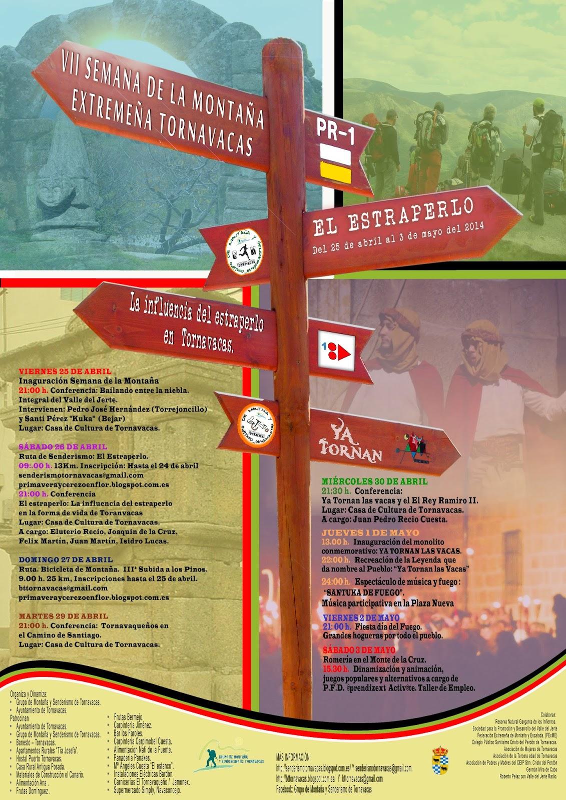 VII Semana de la Montaña Extremeña. Tornavacas. Valle del Jerte