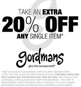 Gordmans printable coupons oct 2018