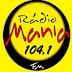 Rádio: Ouvir a Rádio Mania FM 104,1 da Cidade de Brasília - Online ao Vivo