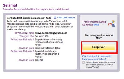 Cara membuat email yahoo gratis