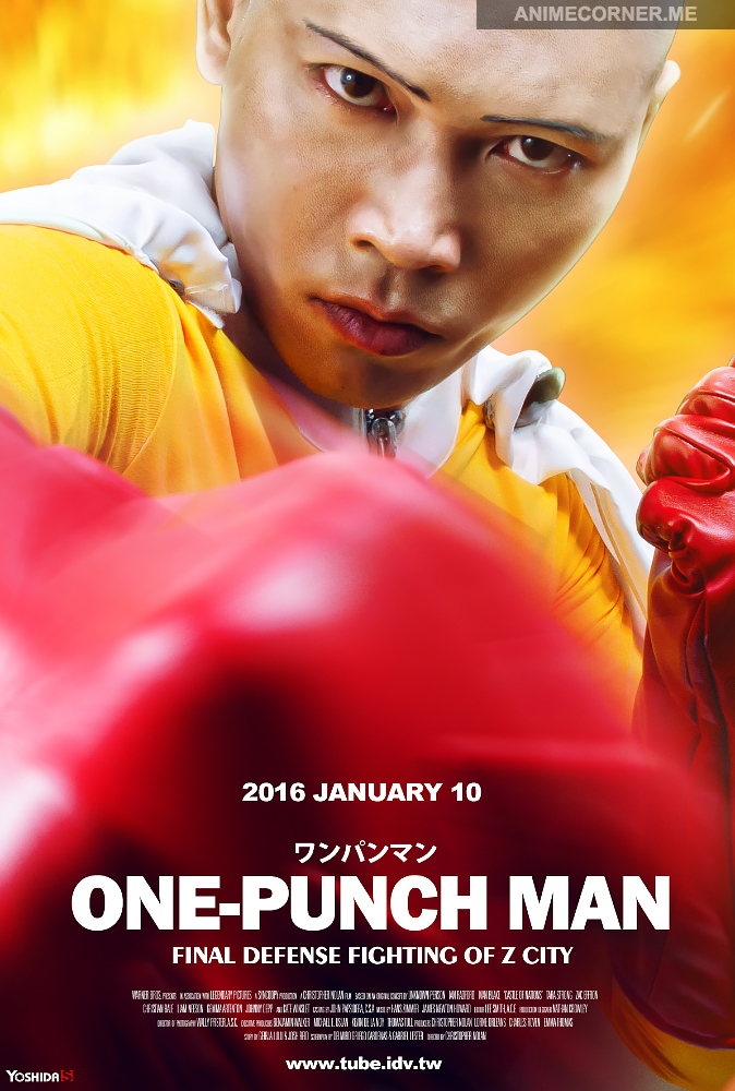 Spectacular One Punch Man cosplay from Taiwan