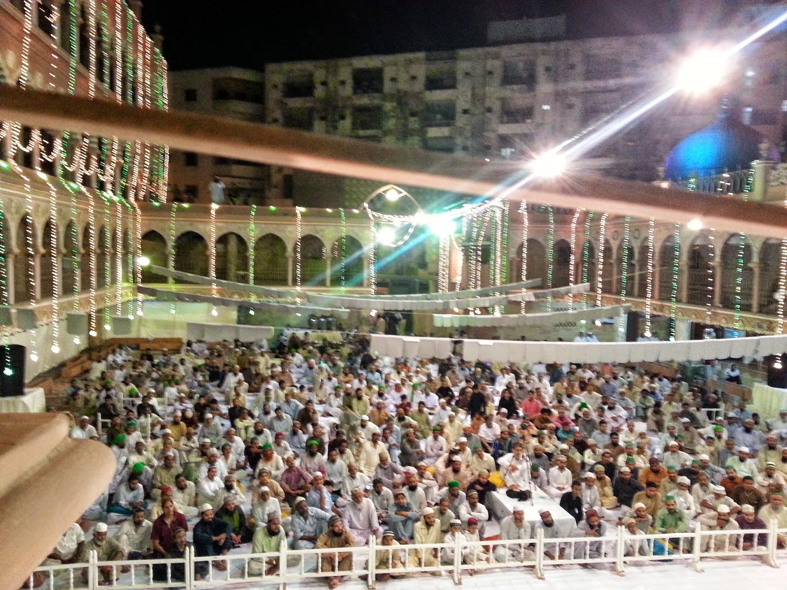million quraan read urs shareef allama kaukab noorani okarvi