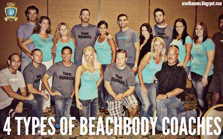 4 Types of Beachbody Coaches