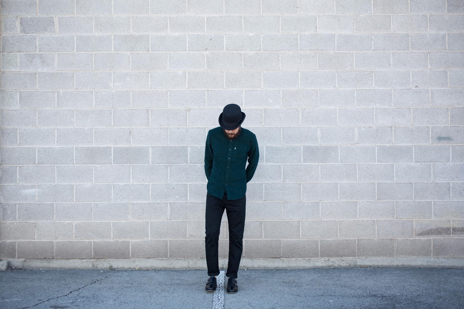 Corduroy Shirt and a Bowler Hat