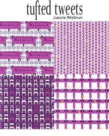 Tufted Tweets For Robert Kaufman Fabrics | Released May 2010