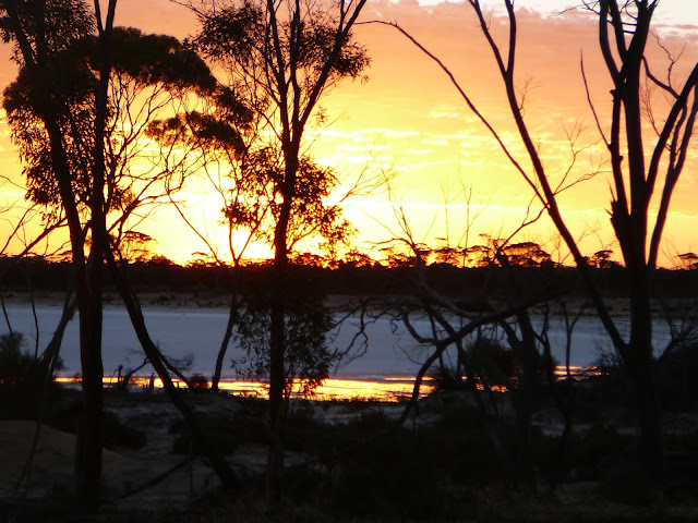 Sunset in Hyden Western Australia