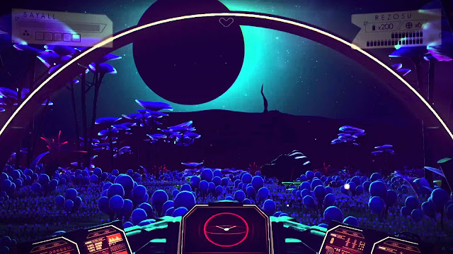 No Man's Sky Preview Blue Planet