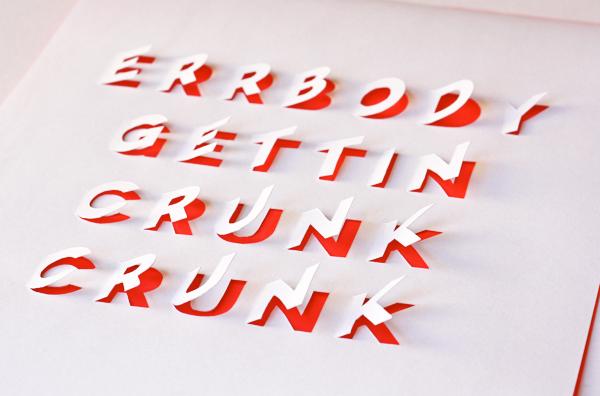 Как сделать алфавит из бумаги