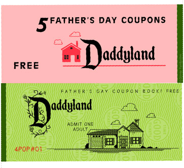 Sally's Coupons: Free Printable Father's Day Coupon Book Templates