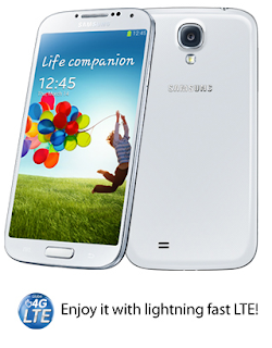 Globe LTE powered Samsung Galaxy S4