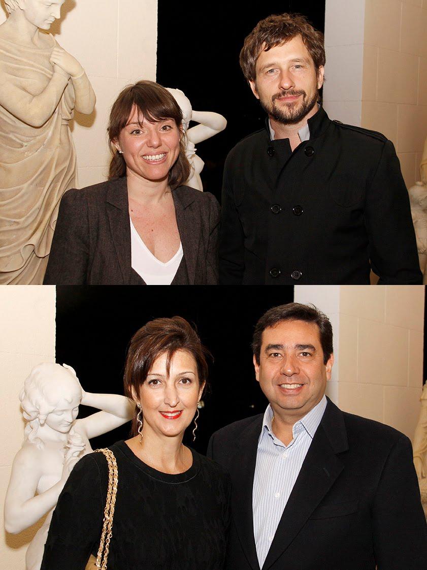 Carmela Rocha e Marko Brajovic / Marina e Eduardo Monteiro da Silva