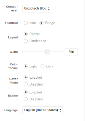 Google+ Badge Customizations