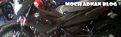 Suzuki Satria Fu150 Black Predator