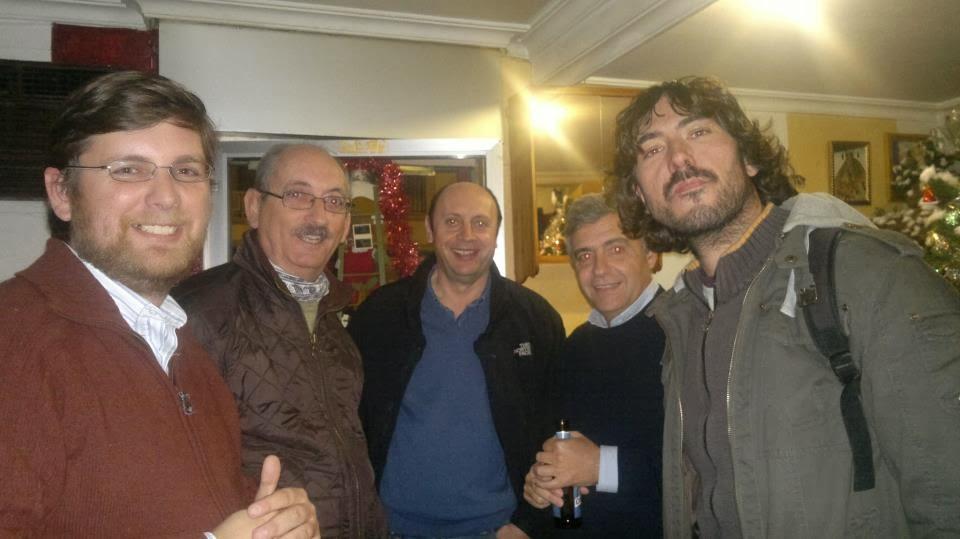 Cena de Navidad del Grupo Local SEO-Sevilla 2012