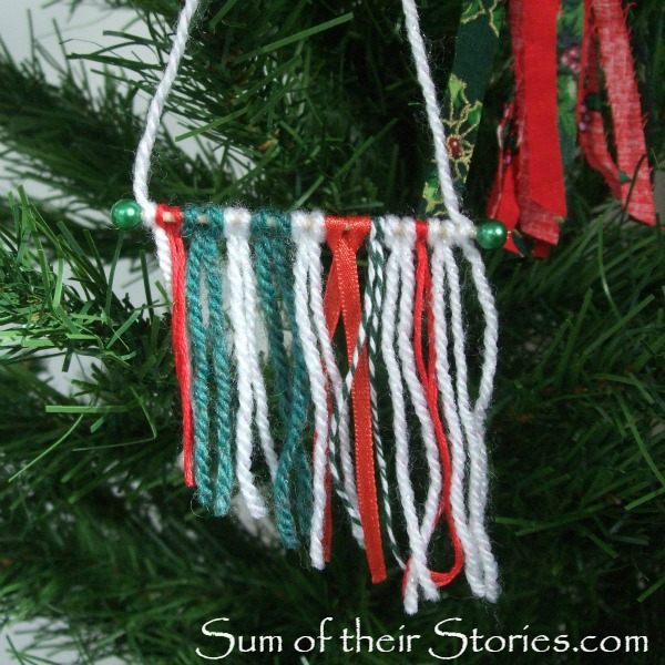 Mini Yarn Wall Hanging