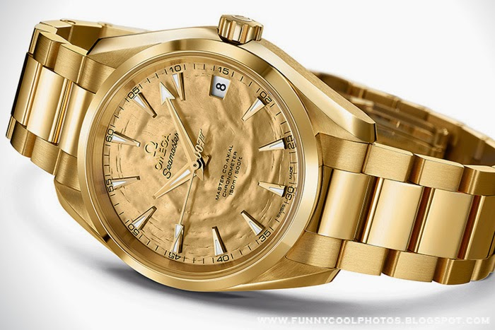 Omega Seamaster Goldfinger Edition Photos