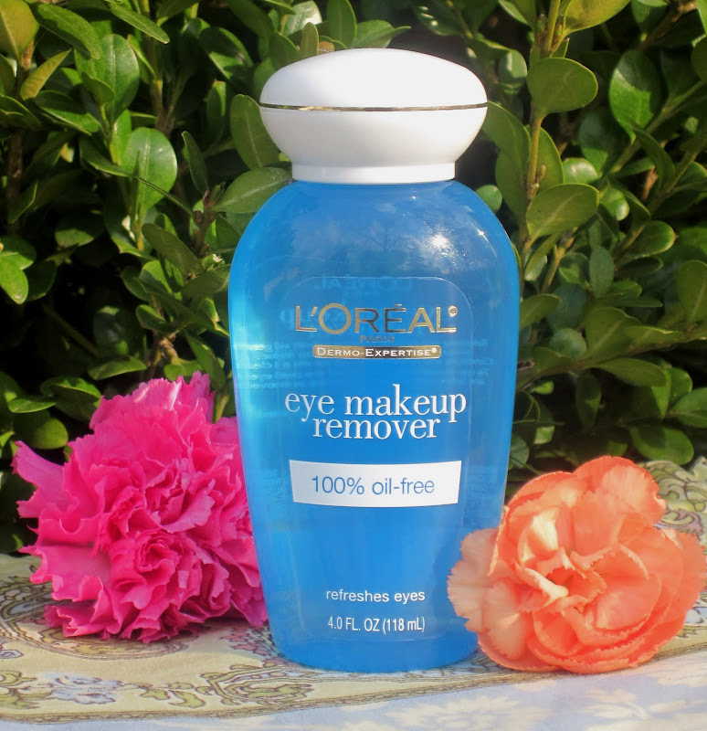 have been using L'Oreal Eye Makeup Remover for the past few weeks  title=