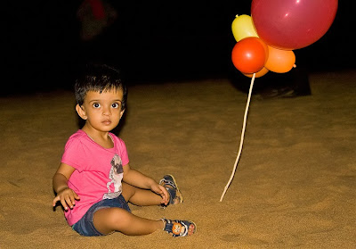 Anisha at puri beach