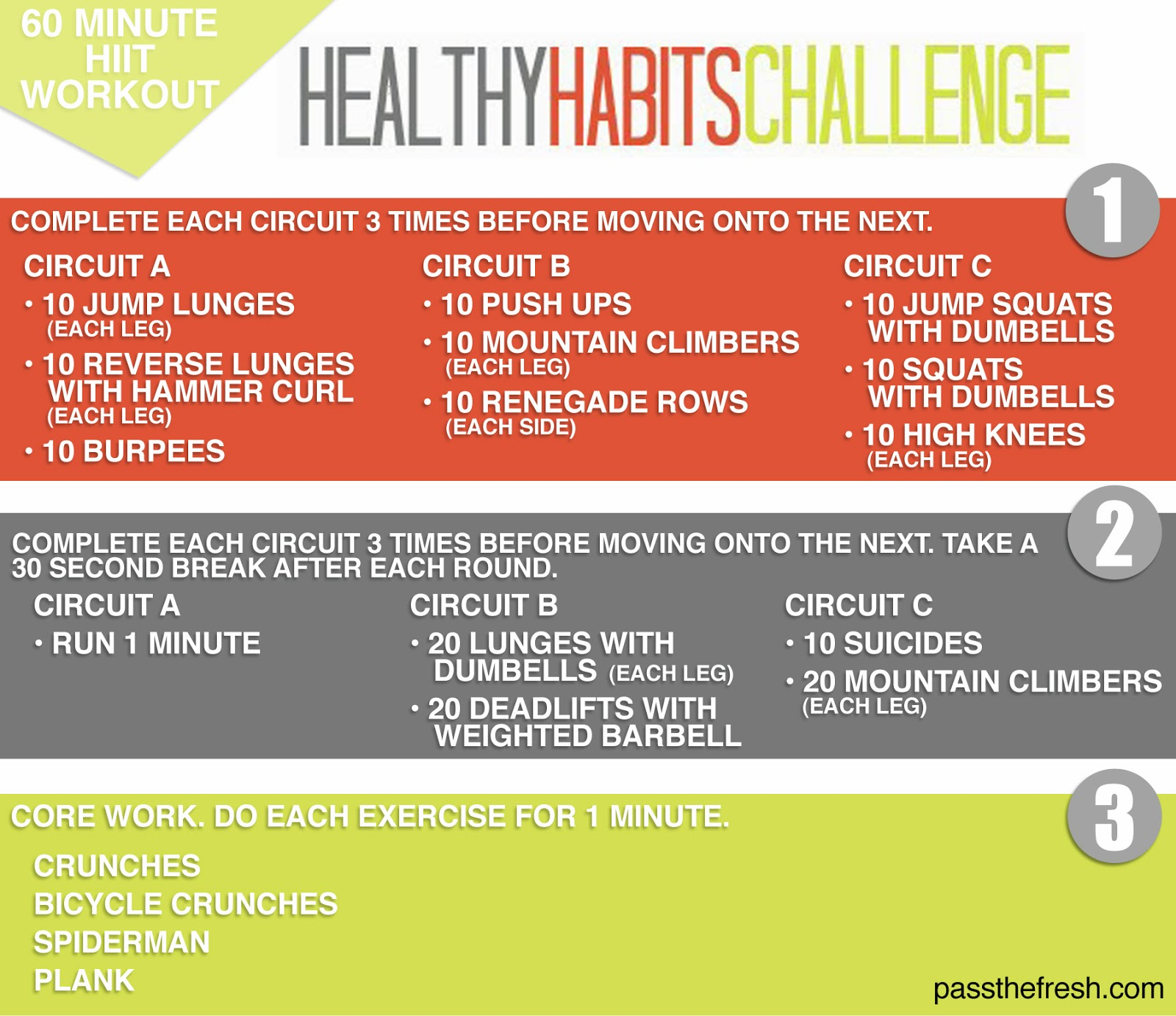 Here S One Of My Latest Graphic Workouts To Demonstrate: Pass The Fresh: Healthy Habits Challenge: January Weight