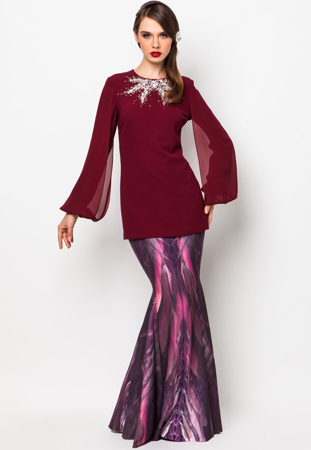 Fesyen Baju Kurung Terkini | Caroldoey