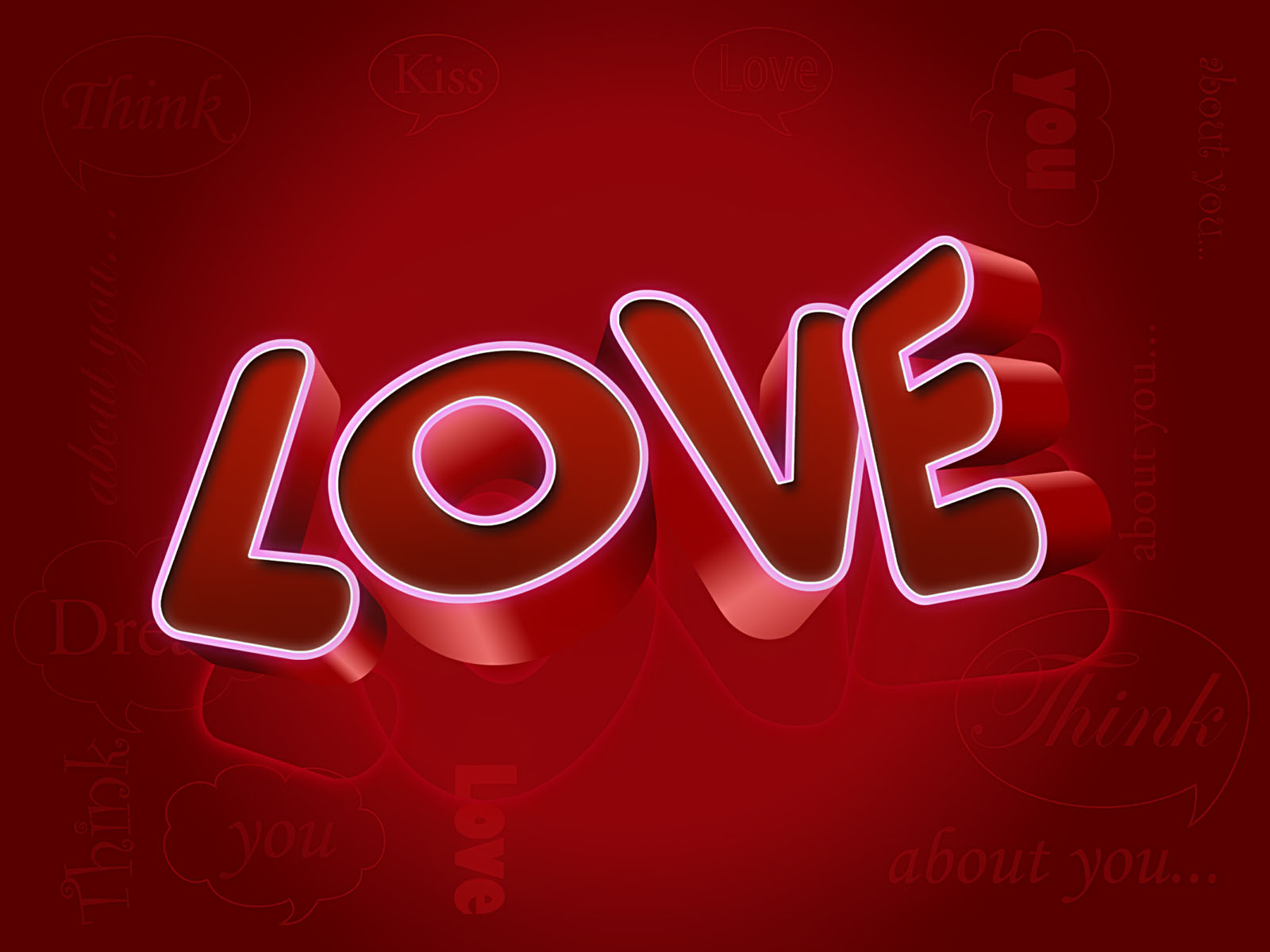 Love words wallpapers - Y k love wallpaper ...