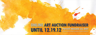 Online Art Auction Fundraiser on Facebook