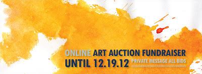 Online Art Auction Fundraiser on Facebook