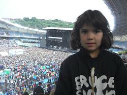 Candela Fraga Paz (alumna) en el concierto de Bruce Springsteen (02/06/12)