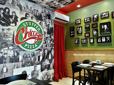 Chicago Stuffed Pizza: Ambiente