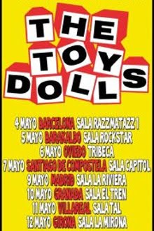 Gira por España de The Toy Dolls en mayo 2012