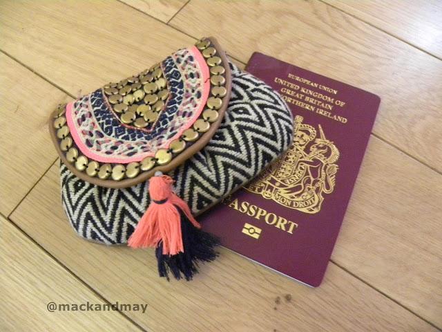 photo of purse and passport