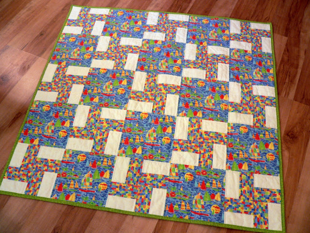 Confessions of a Fabric Addict: 100 Quilts For Kids - Tutorial for ... : how to make easy quilt - Adamdwight.com