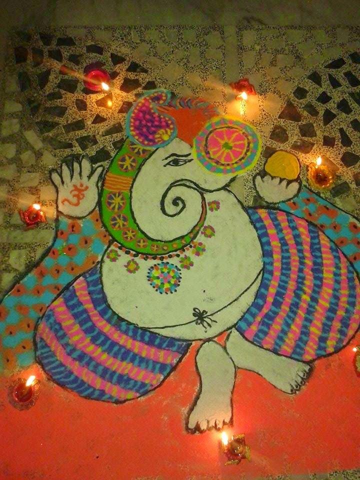 Rangoli Diwali Collection 2014 14