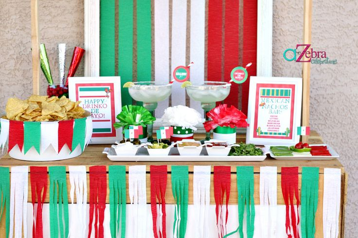 Decoracion Septiembre Mexico ~ PARTTIS Las 10 mejores ideas para una fiesta mexicana