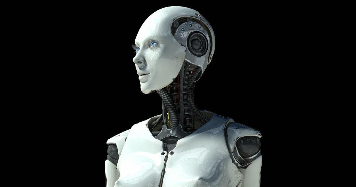3d art reactor  3d model elettra cyborg female
