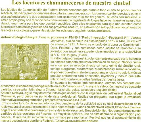 """""""ABRAZO LITORALEÑO"""", en los medios locales"""