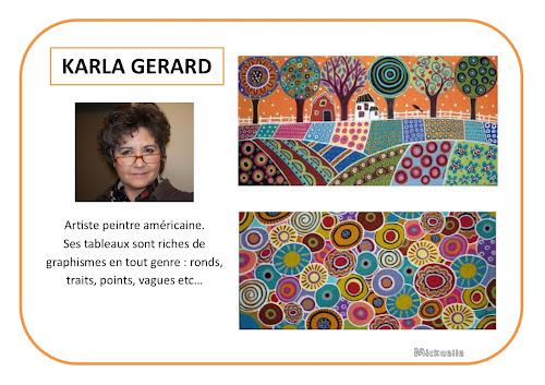 Karla Gerard - Potrait d'artiste