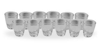 Buy Luminarc Gin-Bar-At-Home 12 Pcs Goblet Set at Flat 33 % Off at Rs.299 : Buy To Earn