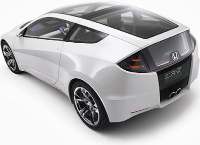 Mobil Honda CR-Z Hybrid Eksterior