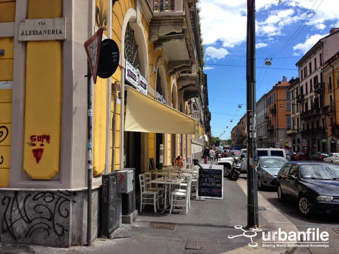 Urbanfile - Milano: Zona Porta Genova - Via Vigevano, la lunga ...