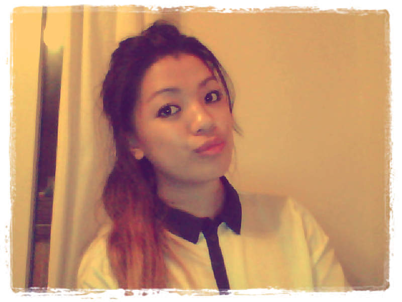 Trying out 'Webcam Toy' effects and being vain as usual