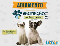 Cães e Gatos Campanha de Vacinação Antirrábica de Cães e Gatos foi adiada pelo Ministério da Saúde
