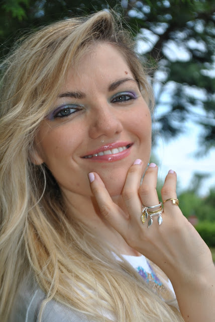 mariafelicia magno fashion blogger colorblock by felym fashion blog italiani blog di moda blogger italiane di moda milano blogger bionde ragazze bionde capelli mossi occhi azzurri anelli majique anelli oceanic jewellers tris di anelli con charms anelli con charms tendenza bijoux estate 2015 accessiru estivi ring majique london rings fashion bloggers italy blondie blonde hair blonde girls wavy hair blue eyes boho rings summer accessories outfit giugno 2015 june outfit outfit 10 giugno 2015