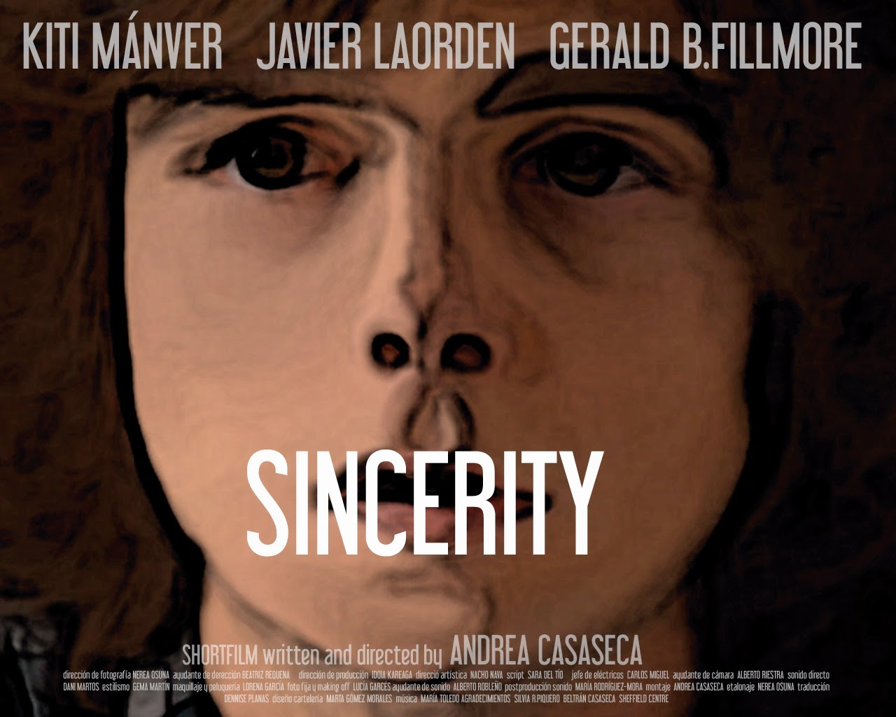Sinceridad, cortometraje Andrea Casaseca, Sincerity, shortfilm