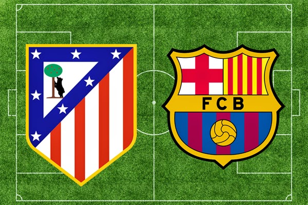 REPETICION ATLETICO MADRID VS FC BARCELONA, Goles, Resultados, Estadisticas, Online